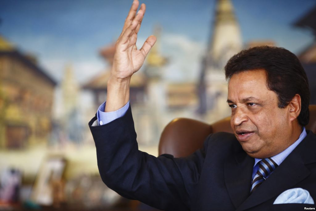 """Binod Chaudhary Is NOT """"dead"""", The First Billionaire Of Nepal Is Working Hard At His Sanepa Office"""